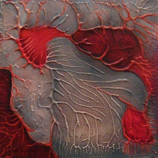 QDP 2 - oil on canvas - 6 x 6 inches (SOLD)