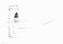 PSA 11 - graphite on paper - 8,5 x 11 inches