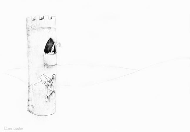 PSA 13 - graphite on paper - 8,5 x 11 inches