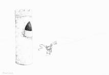 PSA 16 - graphite on paper - 8,5 x 11 inches