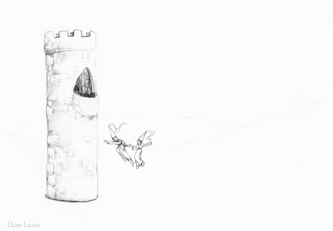 PSA 17 - graphite on paper - 8,5 x 11 inches