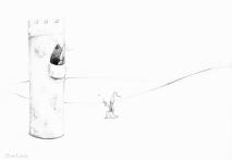 PSA 3 - graphite on paper - 8,5 x 11 inches