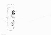 PSA 4 - graphite on paper - 8,5 x 11 inches