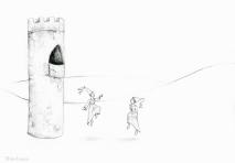 PSA 7 - graphite on paper - 8,5 x 11 inches