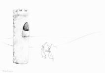 PSA 8 - graphite on paper - 8,5 x 11 inches