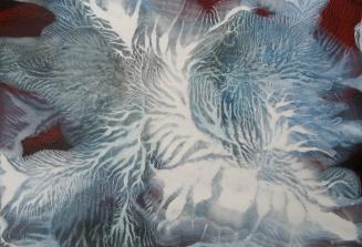 Random Fandom - acrylic on paper on wood panel- 13 x 19 inches