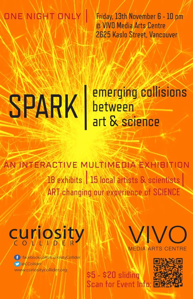 Spark! Emerging collisions between art and science - exhibition information