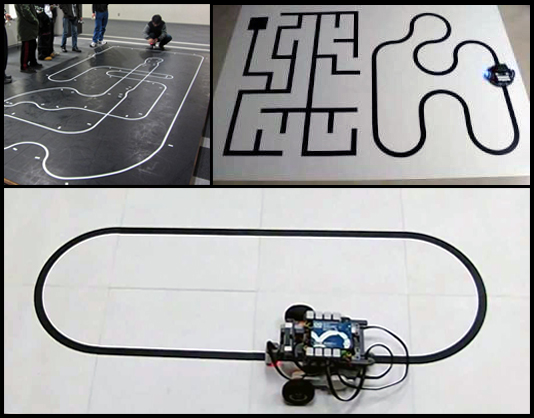 Line Following Robot Tracks