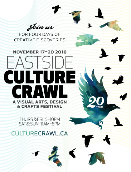 Eastside Culture Crawl 2016, November 17 to 20