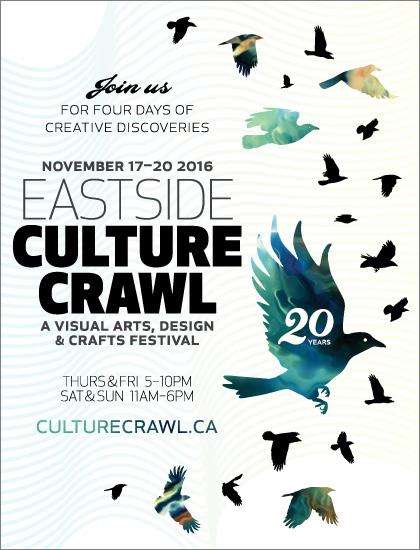 Eastside Culture Crawl 2016, November 17 to 20