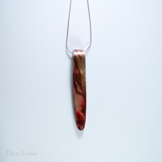 Handle Pendant #06, Red Side