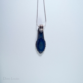 Handle Pendant #19, Blue Side