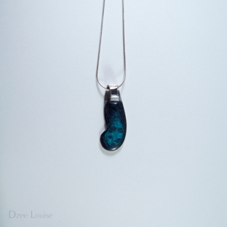 Handle Pendant #26, Blue Side