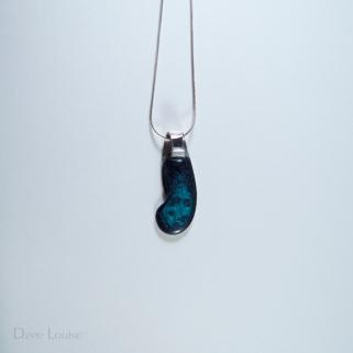 Handle Pendant #26, Blue Side