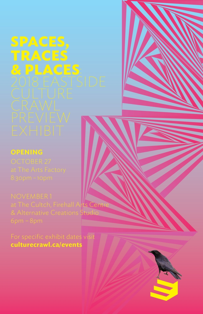ECC PREVIEW EXHIBITION - SPACES PLACES TRACES - Oct 26-Nov 18, 2018